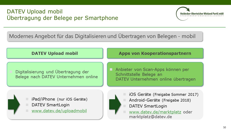Datev Unternehmen Online Heidecker Oberteicher Wieland Partg Mbb